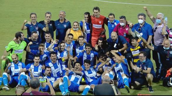 La Unión se impone al Mar Menor B con un gol de Nono y vuelve a Tercera (0-1)