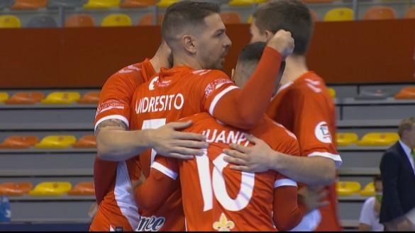 Primera victoria liguera del Jimbee Cartagena (5-1)
