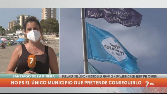 El municipio de San Javier recibe el sello de Turismo Seguro