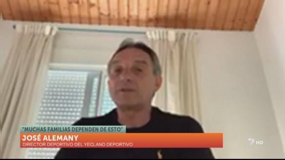 """José Alemany: """"Si ahora hacemos distinciones es un paso atrás"""""""