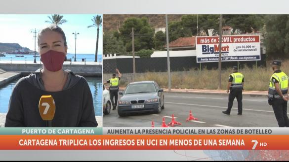 Cartagena se pone en guardia contra los botelleos y las concentraciones de gente