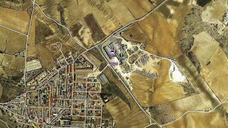 Un hombre de 45 años muere en Lorca aplastado por una placa de mármol