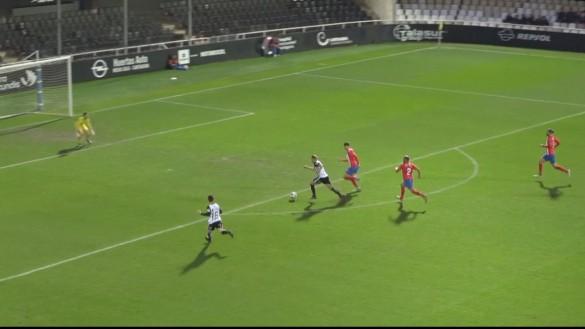 Festival de goles en el sexto triunfo consecutivo del Cartagena (4-0)