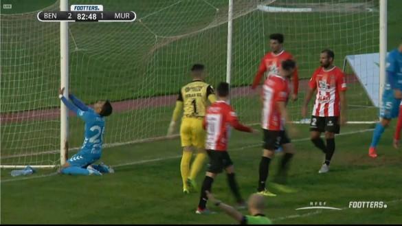 El Real Murcia cae en Don Benito (2-1)