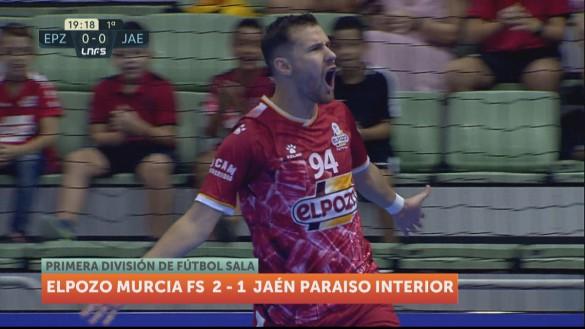 ElPozo Murcia gana su primer partido en casa (2-1)