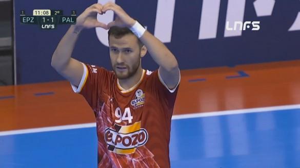 ElPozo Murcia FS no consigue pasar del empate (1-1)