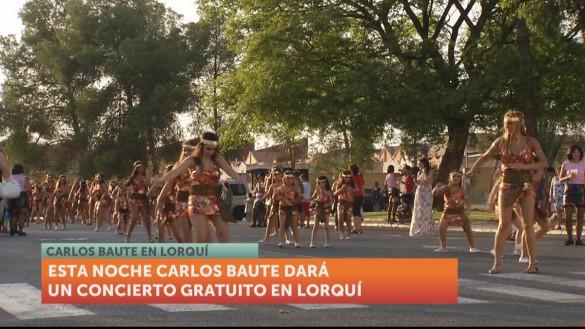Carlos Baute actúa esta noche en Lorquí con motivo de sus fiestas patronales