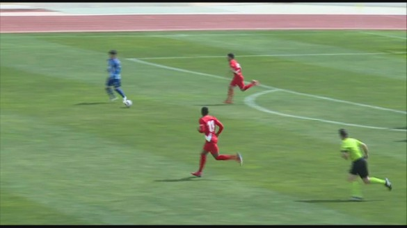 El Jumilla suma una nueva derrota ante el Sevilla Atlético (1-2)