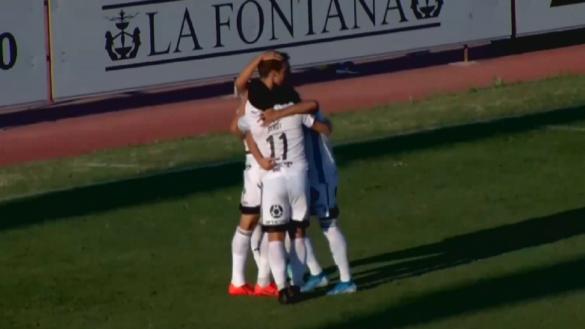 El Cartagena se aúpa al segundo puesto tras ganar en La Línea (0-1)