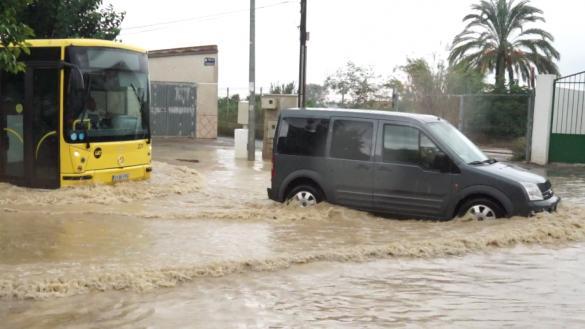 La cola del huracán Leslie deja importantes precipitaciones en la Región