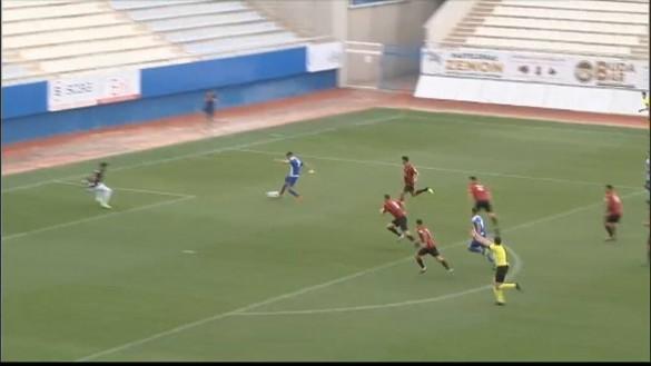 El Lorca Deportiva se impone a Unión Viera y se queda a un gol de pasar la eliminatoria (2-1)