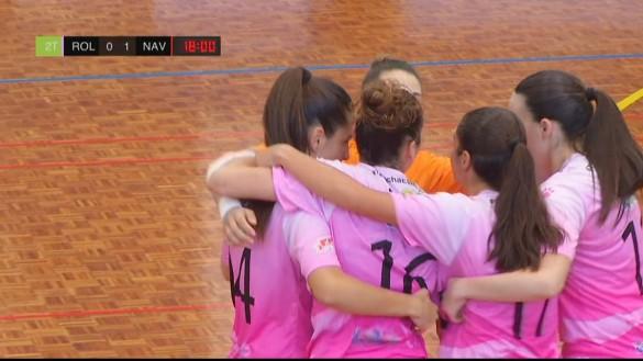 El STV Roldán debuta con un empate ante el gran favorito (1-1)