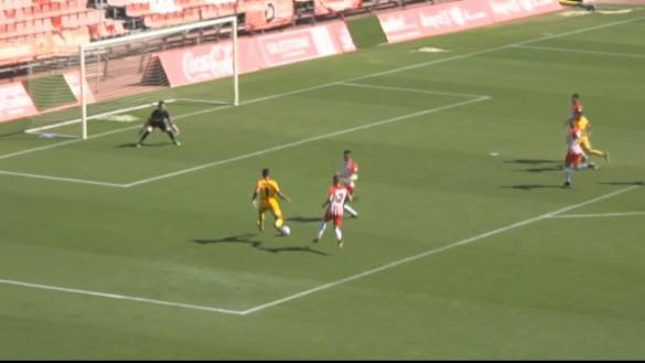 El UCAM consigue la victoria a domicilio frente al Almería B (0-1)