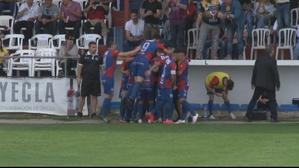 El Yeclano Deportivo, a un paso de Segunda B (1-0)