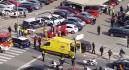 Herida grave una mujer tras una colisión con un vehículo de la Policía Nacional en Murcia