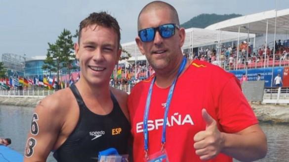El nadador cartagenero Alberto Martínez participará en los Juegos Olímpicos Tokio 2020