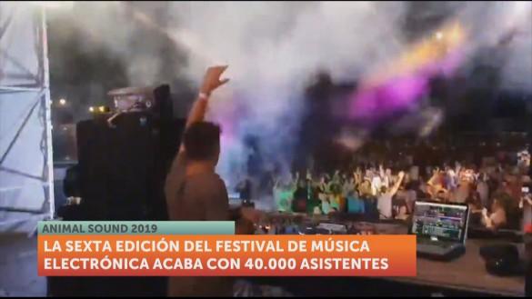 El Animal Sound dice adiós tras dos intensas noches y más de 40.000 asistentes