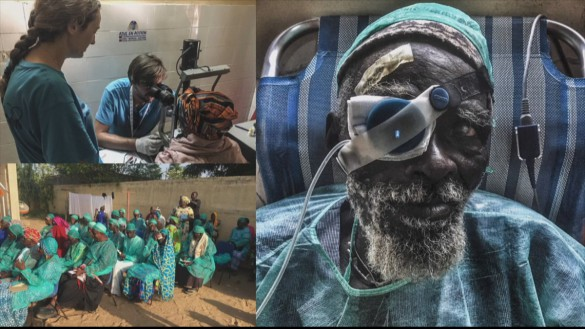 Azul en Acción vuelve a Senegal para atender a unas 4.000 personas
