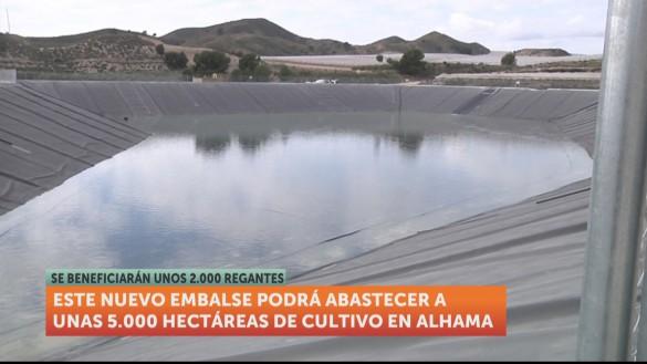 La construcción de una balsa en Alhama de Murcia beneficiará a 2.000 regantes