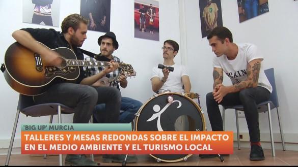 Una nueva edición del 'Big Up! Calle' llena Murcia de música
