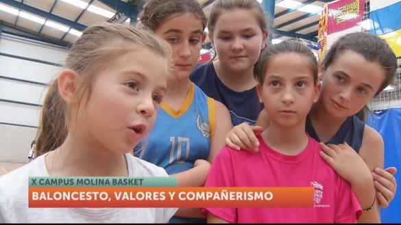Décima edición del Campus de Baloncesto Molina Basket