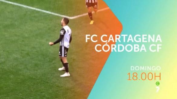 FC Cartagena – Córdoba CF, el domingo en directo en televisión