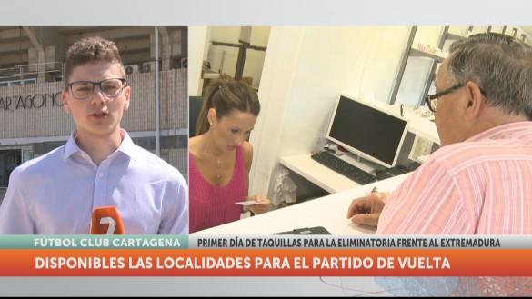 El Cartagena prepara la definitiva y última salida de la temporada