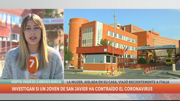 Sanidad estudia otro posible caso de coronavirus en un joven de San Javier