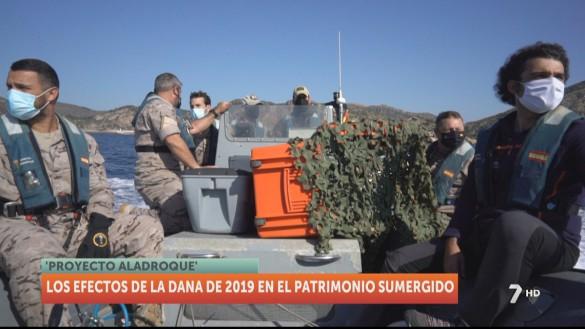 Los efectos de la DANA 2019 en el patrimonio sumergido de Cartagena