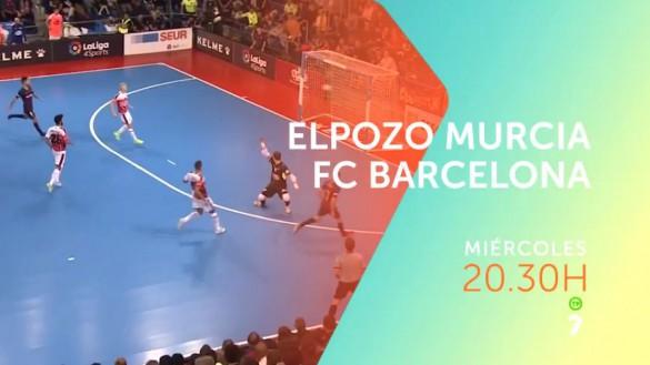 Los cuartos de final de Copa entre ElPozo Murcia – FC Barcelona, en directo en 7TV