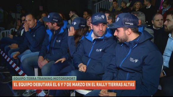 Dani Sordo, fichaje estrella del Terra Training Motorsport