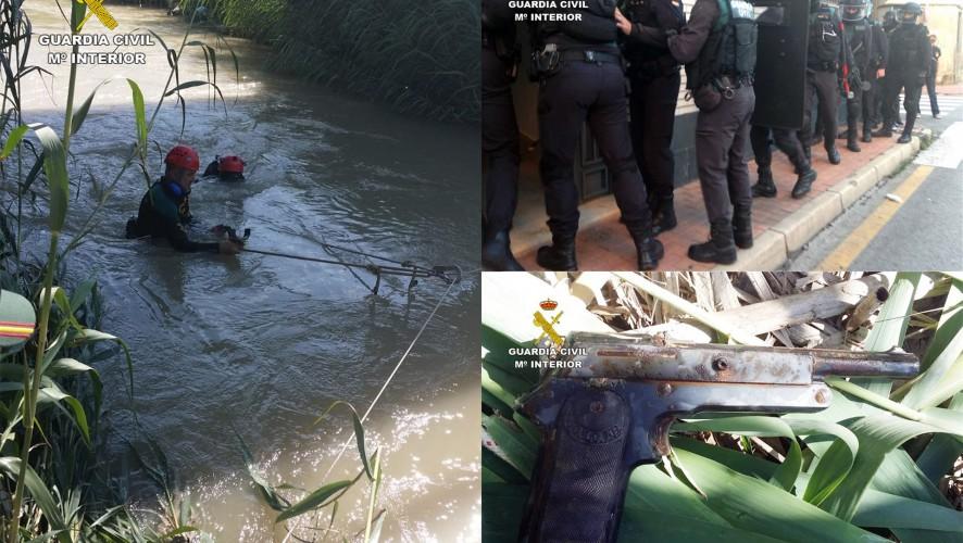 Guardia Civil detiene a dos individuos por intentar matar a una persona en Las Torres