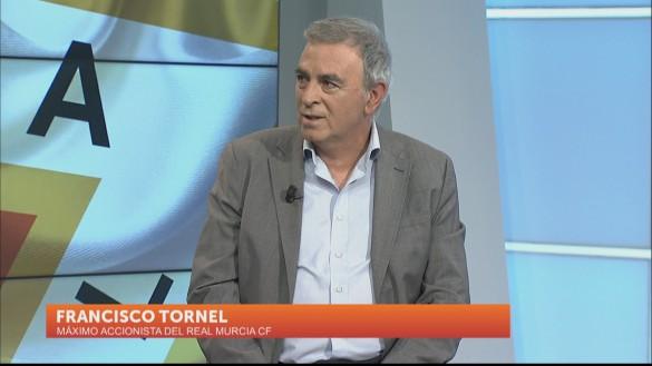 """Francisco Tornel: """"Soy propietario accidental del Real Murcia"""""""