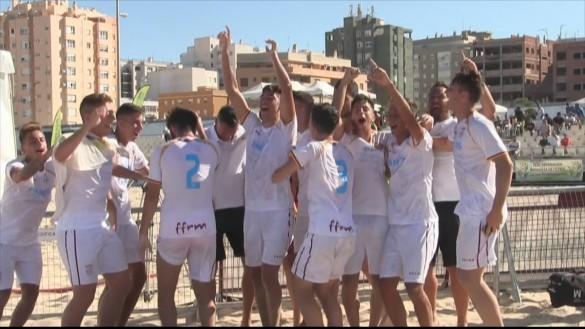 La Región de Murcia, campeona de España en fútbol playa cadete y juvenil