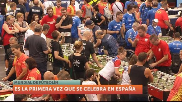 Comienza en Murcia el Campeonato Mundial de Futbolín