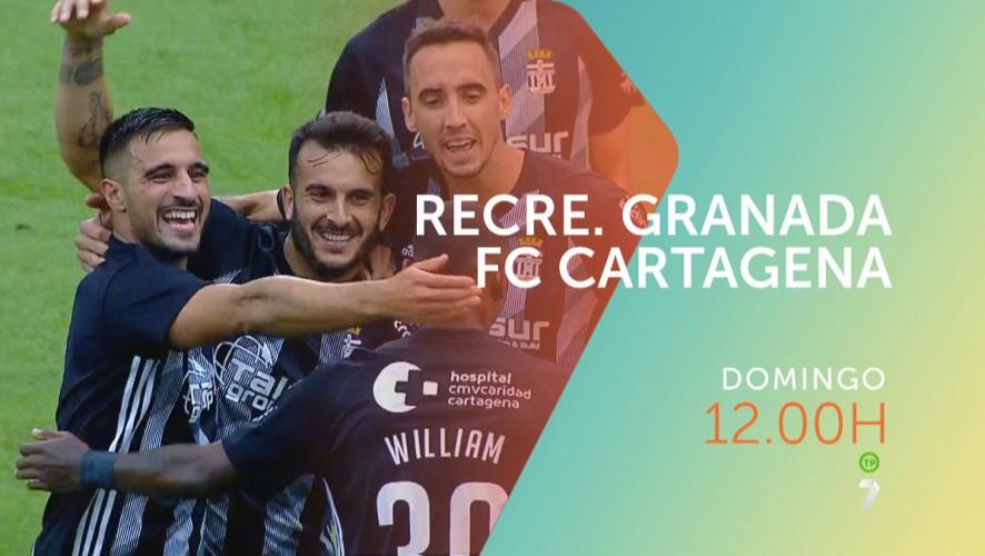 Recreativo Granada – FC Cartagena, el domingo en directo en La7