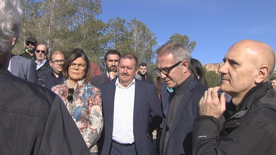El ministro de Cultura visita el yacimiento de La Bastida, en Totana