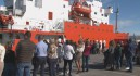 El Hespérides zarpa de Cartagena con rumbo a la Antártida