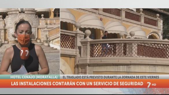 Trasladarán a los inmigrantes del Puerto de Cartagena a un hotel de Moratalla