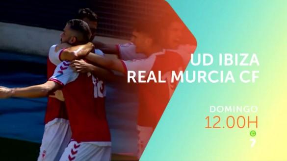 El Real Murcia visita Ibiza para volver a acercarse al playoff, en directo en La7