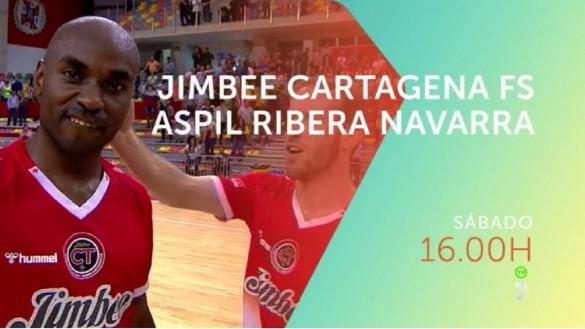 Jimbee Cartagena – Aspil Ribera Navarra, en directo en televisión e Internet