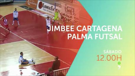 Jimbee Cartagena – Palma Futsal, el sábado en directo en 7TV