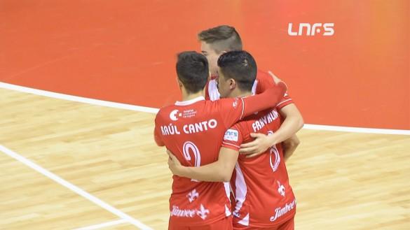 Jimbee Cartagena suma los tres puntos ante Fútbol Emotion Zaragoza (4-3)