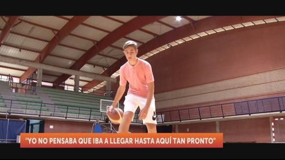 Jorge Vázquez, convocado con la Selección Española de Baloncesto U14