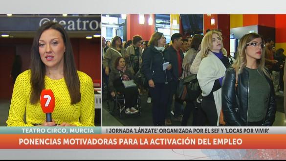 Más de 800 personas participan en Murcia en la jornada de empleo 'Lánzate'