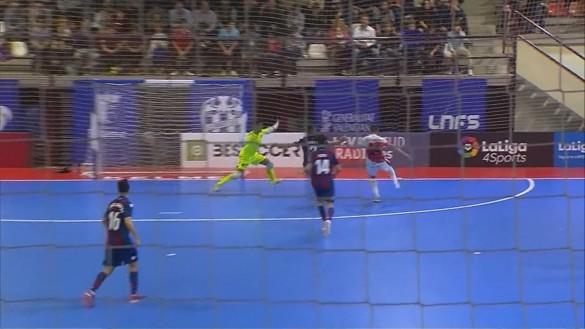 Importante victoria ante el Levante para ElPozo (2-3)