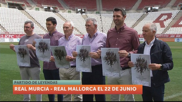 Los veteranos del Real Murcia y del Mallorca jugarán a beneficio de Astrapace