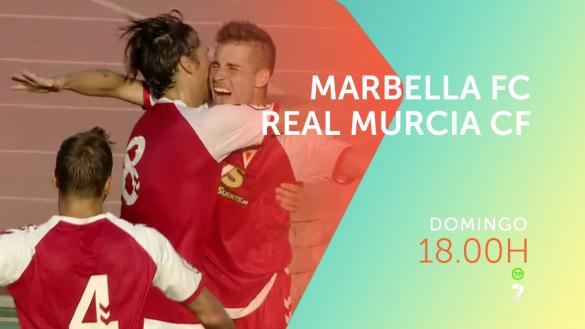 El Marbella-Real Murcia se verá en 7TV el domingo a las 18:00h