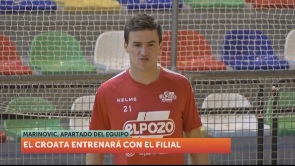Marinovic no jugará más en ElPozo Murcia