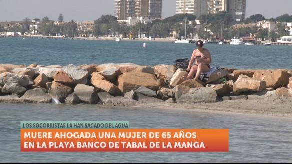 Fallece una mujer de 65 años en San Javier tras sufrir un síndrome de inmersión